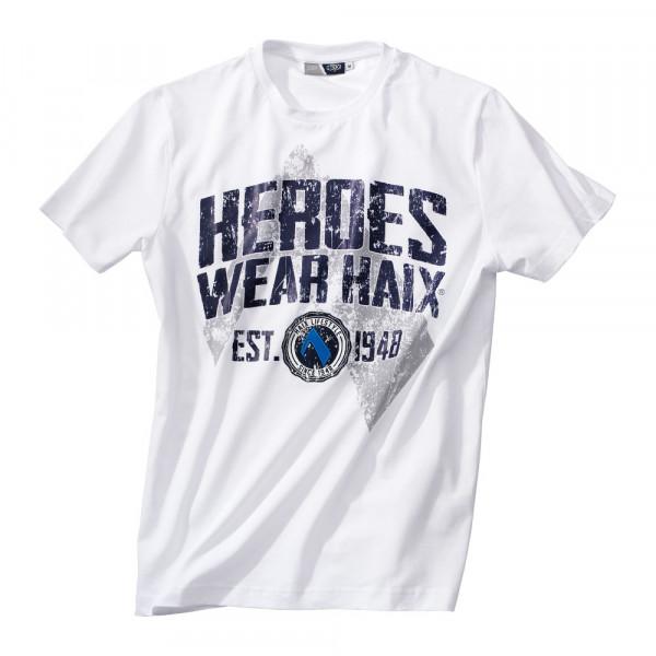 T-Shirt HEROES Unisex weiss