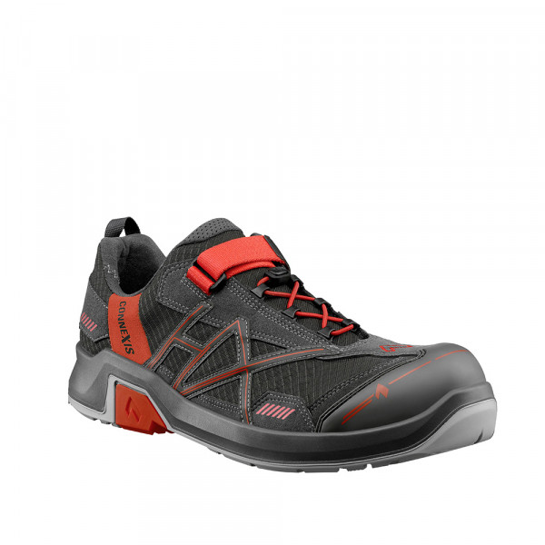 CONNEXIS Safety T S1 low grey-red