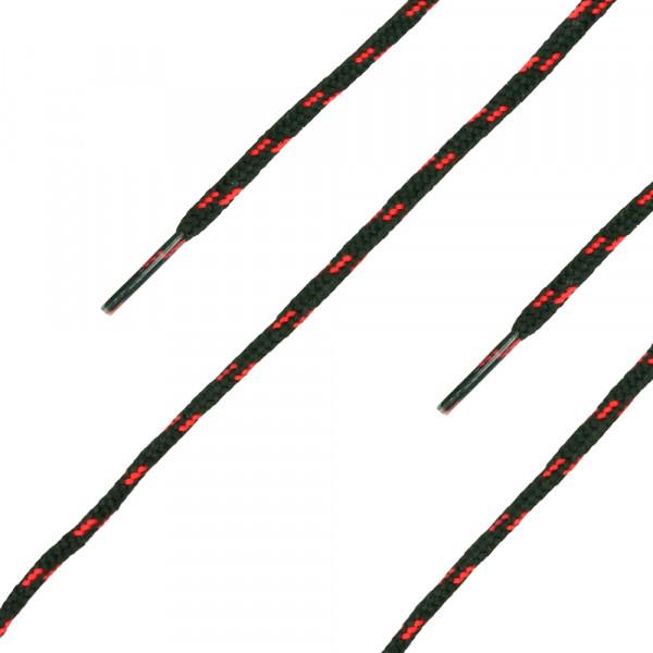 Schnürsenkel black-red