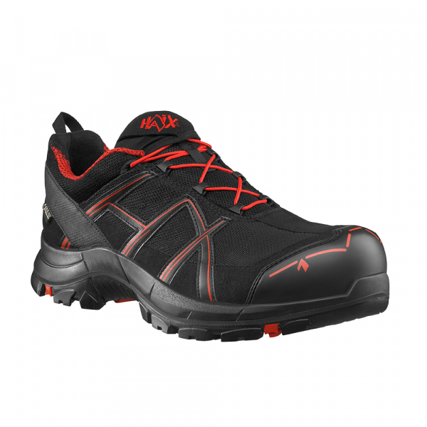 HAIX Black Eagle Safety 40.1 Low black/red