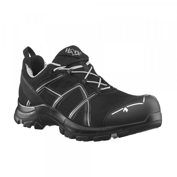 HAIX Black Eagle Safety 41.1 Low black/silver